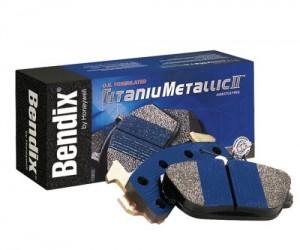 Balata Bendix Titanium Metallic II